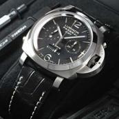 PANERAIパネライ ルミノールスーパー時計スーパーコピー1950エイトデイズ クロノモノプルサンテGMT PAM00275