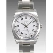 ロレックス 時計 エアキング 114200 ホワイト