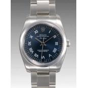 ロレックス 時計 エアキング 114200 ブルー 機械