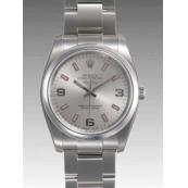 ロレックス 時計 エアキング 114200 自動巻 シルバー