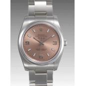 ロレックス 時計 エアキング 114200 ピンク