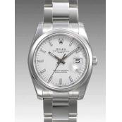 ロレックス コピー時計 オイスターパーペチュアル デイト 115200 機械
