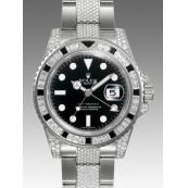 ロレックス 時計 GMTマスターII 116759SANR 宝石
