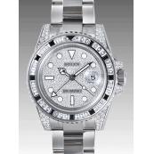 ロレックス 時計 GMTマスターII 116759SANR 機械 宝石