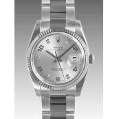 ロレックス 115234G 時計 オイスターパーペチュアル デイトコピー