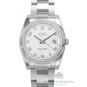 ロレックス 時計 オイスターパーペチュアル デイト コピー 115234G 自動巻き