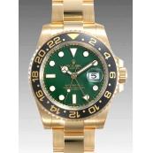 ロレックスコピー 時計 GMTマスターII 116718LN グリーン
