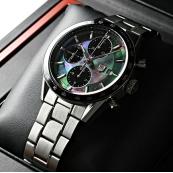 ブランド タグ·ホイヤー時計スーパーコピー カレラクロノ ブラックパール CV201K.BA0794