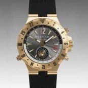 ブルガリ時計偽物 コピー ディアゴノプロフェッショナル GMT40C5GVD