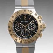 ブルガリ時計偽物 コピー ディアゴノプロフェッショナルタキメトリッククロノ CH40SGDTA