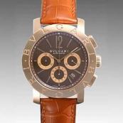 ブルガリ時計偽物 コピー クロノ タイプ 新品メンズ BBP42C11GLDCH/N