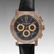 ブルガリ人気腕時計スーパーコピーブランドメンズ時計 BBP42BPGLDCH
