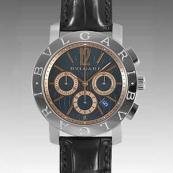 ブルガリ時計偽物 コピー クロノ タイプ 新品メンズ BB42C3SLDCH