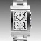 ブルガリスーパーコピー時計 腕時計激安 レッタンゴロクロノ 新品メンズ RTC49WSSD