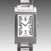 ブルガリスーパーコピー時計 腕時計激安 レッタンゴロ 新品メンズ RT45WSSD