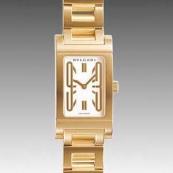 ブルガリスーパーコピー時計 腕時計激安 レッタンゴロ 新品レディース RT39GG