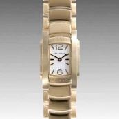 ブルガリスーパーコピー時計 腕時計激安 アショーマD 新品レディース AA26WGG