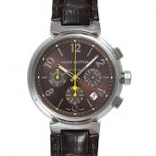 ルイヴィトン コピー腕時計 タンブールクロノ Q120F2