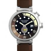 ルイヴィトン時計偽物コピー タンブール ダイバー Q33BGO