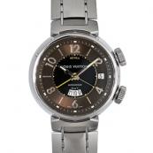 ルイヴィトン 腕時計 N級LV時計スーパーコピー タンブールGMTレヴェイユ Q11510