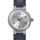 ルイヴィトン 時計 N級品 LV腕時計スーパーコピー タンブールGMT Q113M