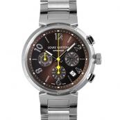 ルイヴィトン 時計スーパーコピー時計 タンブールクロノ Q1121