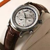 ジャガールクルト時計 マスターワールドジオグラフィーク Q1528420コピー時計