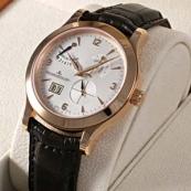 ジャガールクルト時計 マスターエイトデイズ ピンクゴールド Q1602420コピー時計