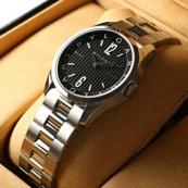 ブランド ブルガリスーパーコピー時計 ソロテンポ ブラックダイアル ST37BSS