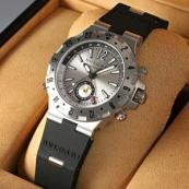 ブランド ブルガリスーパーコピー時計 ディアゴノ プロフェッショナルGMT GMT40C5SVD