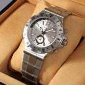 ブランド ブルガリスーパーコピー時計 ディアゴノ プロフェッショナルGMT GMT40C5SSD