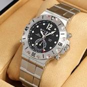 ブランド ブルガリスーパーコピー時計 ディアゴノ スクーバ SD38SSDGMT