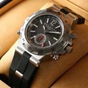 ブランド ブルガリスーパーコピー時計 ディアゴノ プロフェッショナル アリア(エア)DP42C14SVDGMT