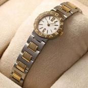 ブルガリ時計 スーパーコピー レディース コンビ ホワイトダイヤル BB23WSGD/N