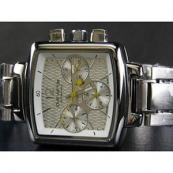 ルイヴィトン時計スーパーコピー louis vuitton腕時計 /自動巻/ホワイト文字盤/男性用 LV-007