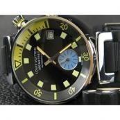 ルイヴィトン時計スーパーコピー louis vuitton腕時計 自動巻黒文字盤(38mm) LV-006