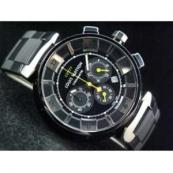 ルイヴィトン 時計スーパーコピー時計 タンブール・クロノ・クォーツ・タイプB・B LVTC0202