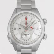 チュードル 腕時計スーパーコピー ヘリテージ アドバイザー 3列ブレス シルバー 79620T