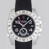 チュードル 腕時計スーパーコピー アエロノート ブラックラバー ブラックアラビア 20200