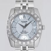 チュードル 腕時計スーパーコピー クラシック デイト 5列ブレス アイスブルー 21010