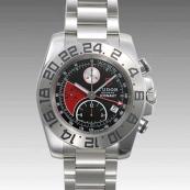 チュードル時計スーパーコピー アイコノート 自動巻き ブラック/レッド 20400