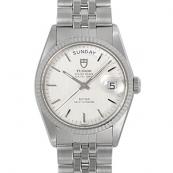 チュードル時計スーパーコピー プリンスオイスターデイト自動巻き時計 シルバー 72034