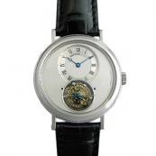 人気ブレゲ腕時計スーパーコピー スーパーコピー トゥールビヨン 5357PT/1B/9V6