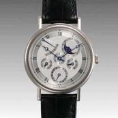 ブレゲ 時計人気 Breguet 腕時計 パーペチュアルカレンダー パワーリザーブ 5327BB/1E/9V6