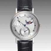 ブレゲ 時計人気 Breguet 腕時計 クラシック パワーリザーブ ムーンフェイズ 7137BB/11/9V6