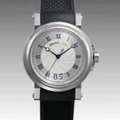 ブレゲ 時計人気 Breguet 腕時計 マリーン ラージデイト 5817ST/12/5V8