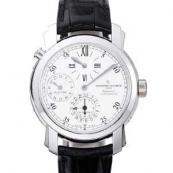 ヴァシュロンコンスタンタン コピー時計 マルタ デュアルタイム レギュレーター42005/000G-8900 激安