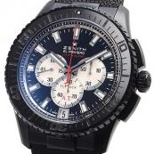 人気ゼニス腕時計スーパーコピー エルプリメロ ストラトス フライバッククロノ アラン テボー 世界限定500本 24.2061.4057/67.C707