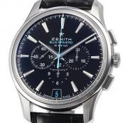 人気ゼニス腕時計スーパーコピー キャプテン 36000VPH BLUE PRIMERO 世界限定500本 03.2119.400/22.C720