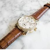 ヴァシュロンコンスタンタン コピー マルタ デュアルタイム レギュレーター 42005/000J-8901 高級 腕時計